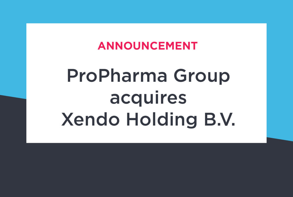 ProPharma Group Announces Acquisition of Xendo