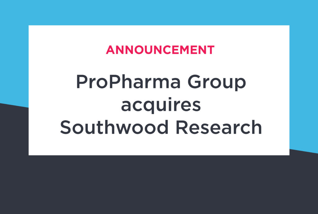 ProPharma Group Announces Acquisition of Southwood Research