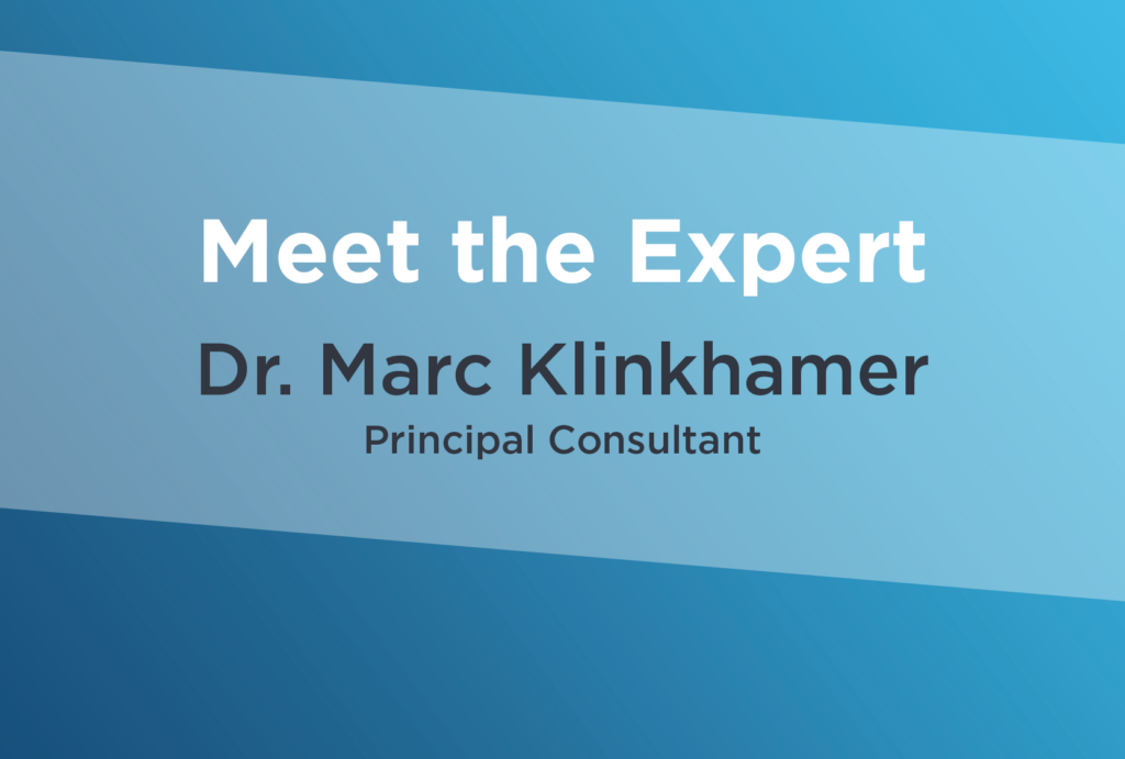 Meet the Expert: Marc Klinkhamer