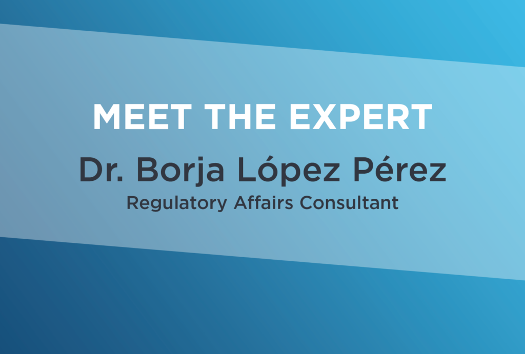 Meet the Expert: Dr. Borja López Pérez